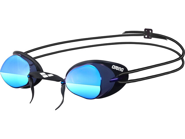 d7f400f6a2e arena Swedix Mirror Goggle grey blue at Bikester.co.uk